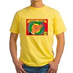 Produce Sideshow: Jumbo Olive Yellow T-Shirt