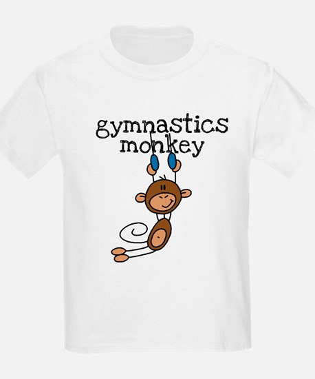 Gymnastics Monkey T-Shirt