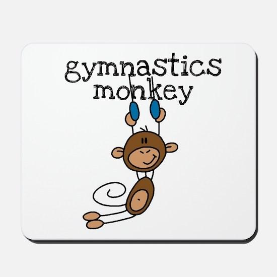 Gymnastics Monkey Mousepad