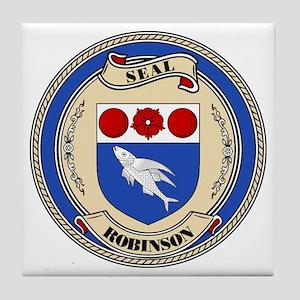 Seal - Robinson Tile Coaster