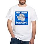 2003 Total Solar Eclipse White T-Shirt