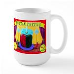 Produce Sideshow: Pepper Large Mug
