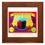 Produce Sideshow: Pepper Framed Tile