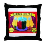 Produce Sideshow: Pepper Throw Pillow