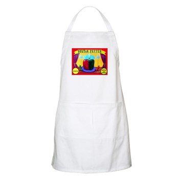Produce Sideshow: Pepper BBQ Apron
