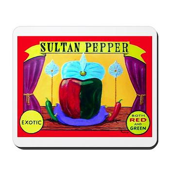 Produce Sideshow: Pepper Mousepad