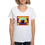 Produce Sideshow: Pepper Women's V-Neck T-Shirt