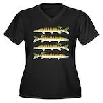 Muskellunge Plus Size T-Shirt