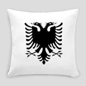 Albanian Eagle Everyday Pillow