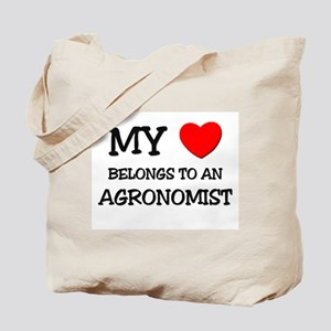 My Heart Belongs To An AGRONOMIST Tote Bag