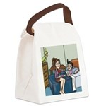 Pj And Split Pea Canvas Lunch Bag