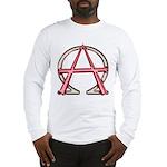 Alpha & Omega Anarchy Symbol Long Sleeve T-Shirt