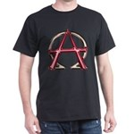 Alpha & Omega Anarchy Symbol Dark T-Shirt