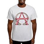 Alpha & Omega Anarchy Symbol Light T-Shirt