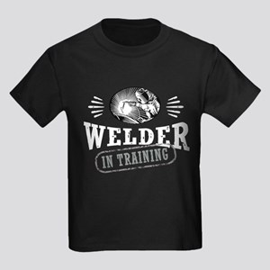 Welder In Training Kids Dark T-Shirt