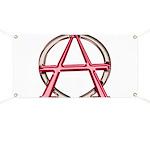 Alpha & Omega Anarchy Symbol Banner