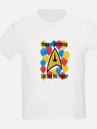 Happy Birthday Live Long T-Shirt