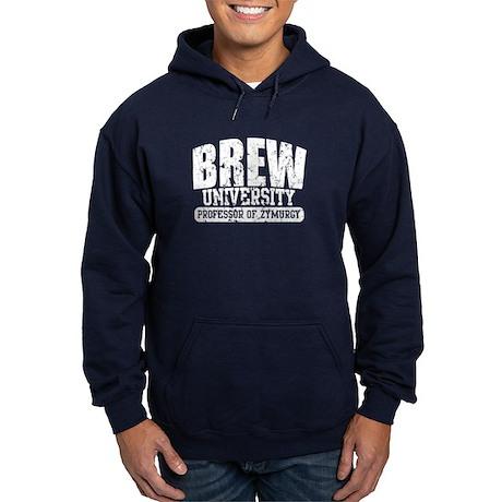 Brew University - Professor of Zymurgy Hoodie (dar