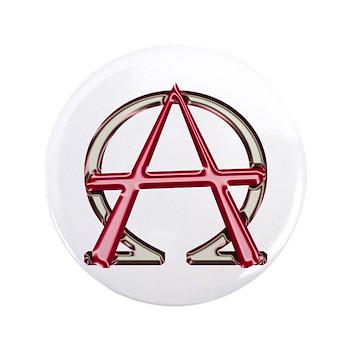 Alpha & Omega Anarchy Symbol 100 Large Buttons