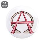 Alpha & Omega Anarchy Symbol 10 Large Buttons