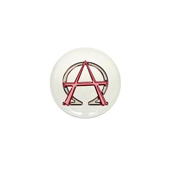 Alpha & Omega Anarchy Symbol 100 Mini Buttons