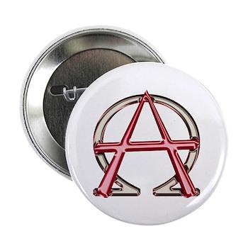 Alpha & Omega Anarchy Symbol Button