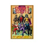 LUCY HELL SOCIETY Rectangle Magnet (100 pack)
