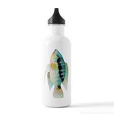 Flag (Festivus) cichlid Water Bottle