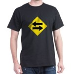 Goes Both Ways Black T-Shirt