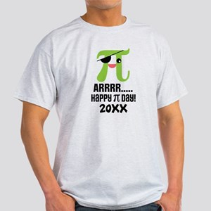 Funny Pi Day Pirate T-Shirt