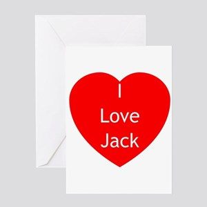 Love Jack Greeting Card