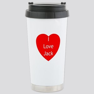 Love Jack Stainless Steel Travel Mug