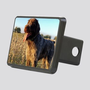 Wirehaired Pointing Griffo Rectangular Hitch Cover
