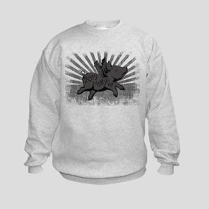 2019 Year Pig Kids Sweatshirt