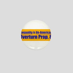 Overturn Prop 8 Mini Button