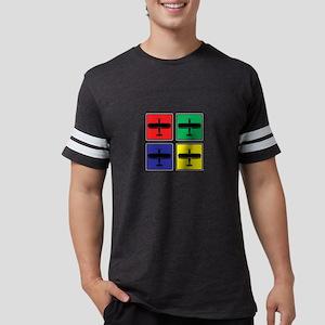 Retro Pop Art Airplane Aircraft Mechanic A T-Shirt