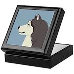 Alaskan Malamute Profile Keepsake Box