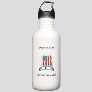 Proud He Is A Soldier Stainless Water Bottle 1.0L