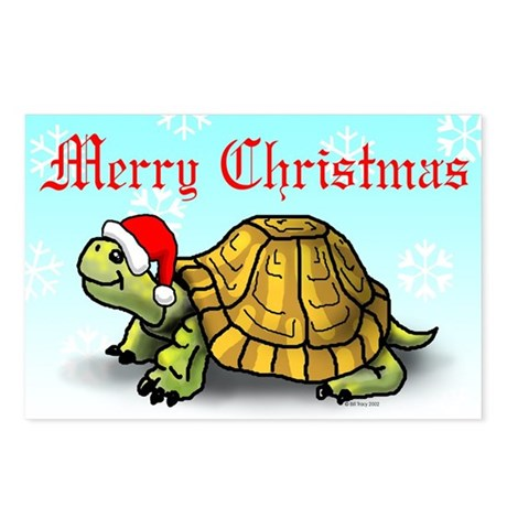 Turtle X-Mas Postcards (Package of 8)