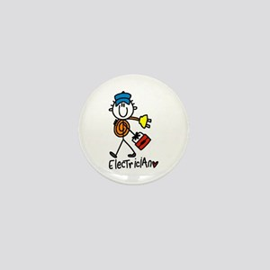 Basic Electrician Mini Button