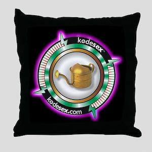 GOLDEN SHOWER -- GIVE & GET Throw Pillow