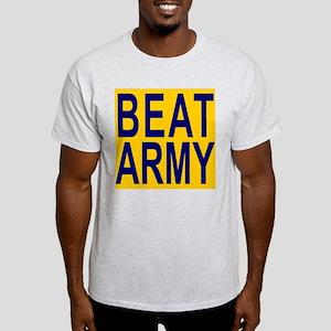 BEAT ARMY (big) Ash Grey T-Shirt