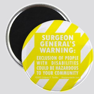 Exclusion Warning Magnet