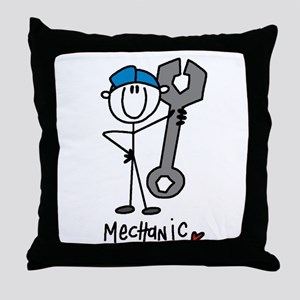 Basic Mechanic Throw Pillow