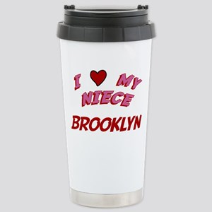 I Love My Niece Brooklyn Stainless Steel Travel Mu