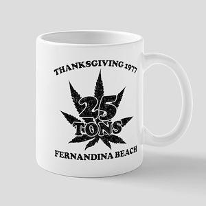 Fernandina Beach 25 Tons Mugs