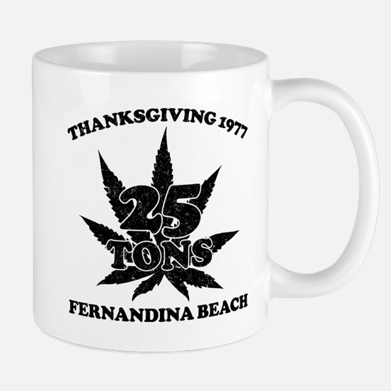 Fernandina Beach 25 Tons Mugs