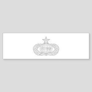 Intelligence Bumper Sticker