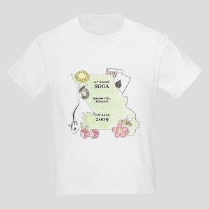 Official SGGA 2009 LOGO Kids Light T-Shirt