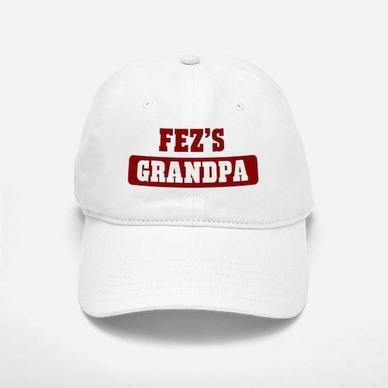Fezs Grandpa Baseball Baseball Cap